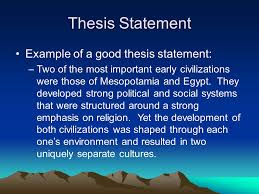 thesis statement example for essays ap world history writing the thesis statement and dbq essay ppt