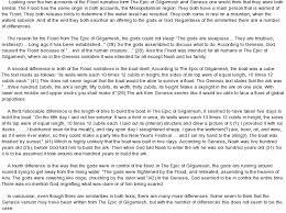 gilgamesh vs noah essay comparing the epic of gilgamesh and noah and the flood essay