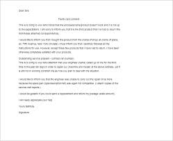complaint letter templates word samples examples  customer complaint letter template