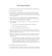 Scope Of Work Proposal Letter Example Yakult Co