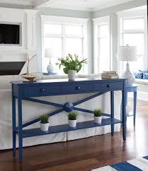 sofa table decor. Caribbean Blue Drawer \u0026 Runner Sofa Table Decor U