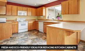 fresh and eco friendly ideas for refacing kitchen cabinets