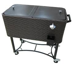 amazing home luxurious outdoor beverage cooler cart on stunning patio oakland living stainless steel from