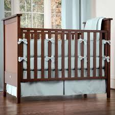 solid robin s egg blue 3 piece crib bedding set