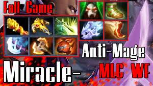 miracle anti mage dota 2 full game vol 10 monkey vs cis