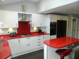 Red And White Kitchens Red Kitchen Aqua And Red Kitchen Red And Green Contemporary