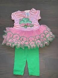 Bonnie Jean Girls St Patricks Day Outfit Too Cute Legging