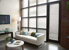 living room present chic round coffee table or white leather sofa design plus contemporary sliding glass
