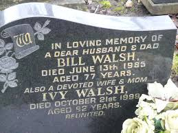 Bill Walsh (1908-1985) - Find A Grave Memorial