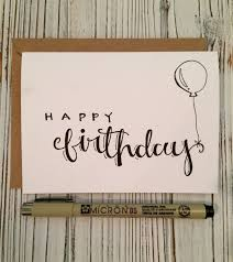 the best happy birthday writing ideas happy hand lettered set of 5 happy birthday cards w by amourdeart