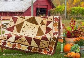 Fall Quilt Projects | AllPeopleQuilt.com & Maple Leaf Farm Adamdwight.com
