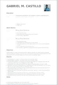 Examples Of Military Resumes Beauteous Military Resume For Civilian Job Example Sample Military Resume