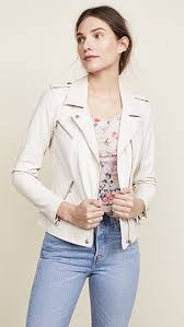 rebecca taylor washed leather jacket vanilla nlqijh