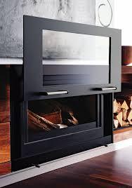 balance nature wood burning fireplace from beauty fires wood burning fireplace insertsmodern