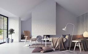furniture the brick. White Brick Wall With Soft Furniture Sets The