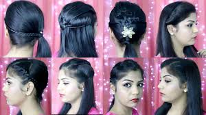 Indian Hair Style 4 quick and easy hairstyles indian party heatless hairstyles 1639 by wearticles.com
