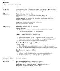 Barback Resume Example Professional Resume Templates
