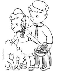 Easter Coloring Book Pages 021