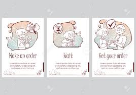 Presentation Slide Template Hand Drawn Cute Doodle Shopping
