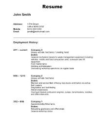 Automotive Resume Template Driver Resume Samples Automotive Resume