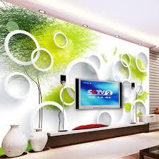 3d wall painting designs for bedroom custom 3d wall murals wallpaper modern abstract circles tree tv  on 3d wall art painting designs with 3d wall painting designs for bedroom egrosz fo