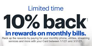 But watch out for balance transfer fees, and have a plan to pay off the debt before the regular interest rate kicks in. Expired Targeted Best Buy Credit Card Get 10 Back In Rewards On Monthly Billings Doctor Of Credit