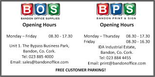 Bandon Office Supplies