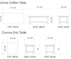 coffee table dimensions inches standard coffee table height inches coffee table dimensions standard superb standard size
