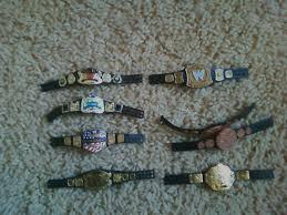 Small Picture FS Mattel WWE Figure BeltsChampionships DM5 Bret Hart UPDATED w