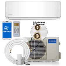 mrcool do it yourself 18000 btu 750 sq ft single ductless mini split air conditioner with heater