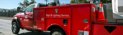 sign lighting service patrol