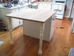 Narrow Kitchen Island Table Diy Too Small Kitchen Island Into Plenty Big Enough Kitchen Island
