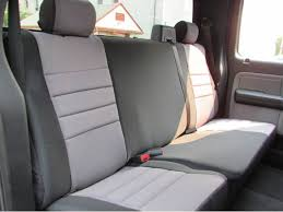 fia neoprene rear seat covers on ford f150