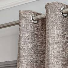 Dunelm Bathroom Accessories Elements Madison Check Grey Lined Eyelet Curtains Dunelm Home