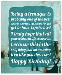 Teenager Quotes Gorgeous The Birthday Wishes For Teenagers Article Of Your Dreams