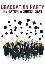Graduation Lunch Invitation Wording Graduation Party Invitation Wording All Allwording Pinterest