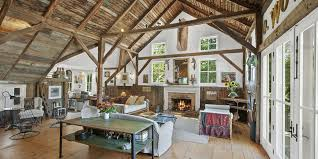 Barns Converted To Homes Home Design English Barn House With Exposed  Ceilings 17