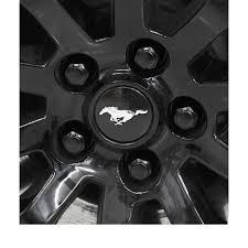 gorilla 61148bcx mustang lug nut kit factory style bulge black painting lug nuts