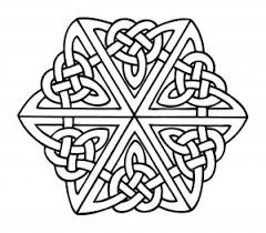 You can use them as templates for a variety of arts and crafts, e.g. Celtic Art Coloring Pages For Adults
