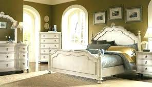 Distressed Bedroom Sets Rustic White Image Of Nice With Regard Wood ...