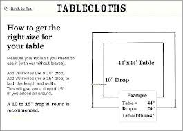 how to measure a round table table cloth sizes cloth s table cloth sizes for round
