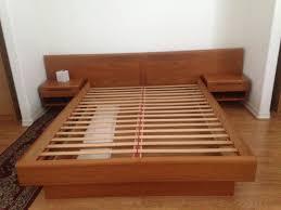 Mid Century Bedroom Furniture Mid Century Bed Zampco