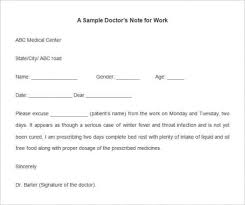 How To Fake Doctors Note For Work Fake Doctors Note Template For Work Or School Pdf