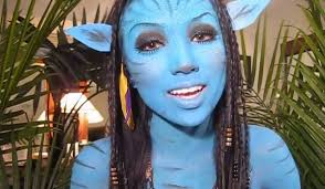 this super deled makeup tutorial will turn you into a flawless version of neytiri from avatar