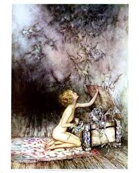 pandora the first w the broom closet there is a second myth which is less known that says zeus created pandora in good faith to be a blessing to man zeus sent her box containing the