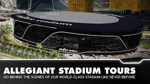 Allegiant Stadium Tours ...