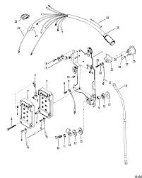Mercury mercury xr 4 0c100861 thru 0c239552 wiring harness starter solenoid