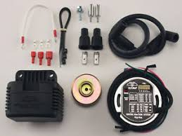 single fire ignition electrical components ultima single fire programmable ignition coil kit harley big twin evo xl