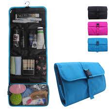 travel hanging toiletry bag for men women travel kit shaving bag waterproof wash bag makeup organizer