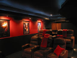 Theatre Rooms In Homes Show Us Your Color Schemes Home Theater Pinterest Basements